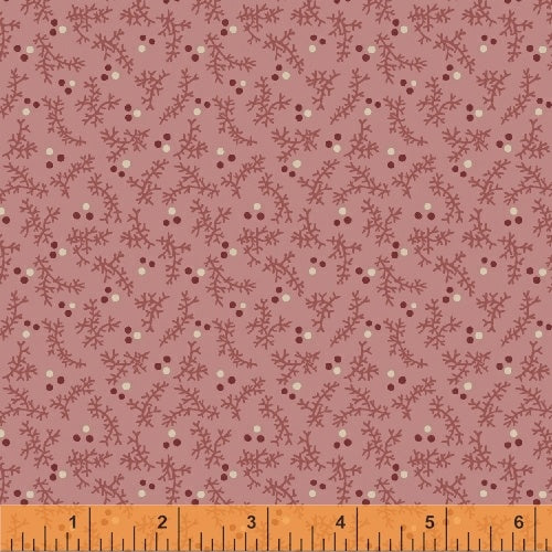Cunningham Fern Dot Pink for Windham Fabrics