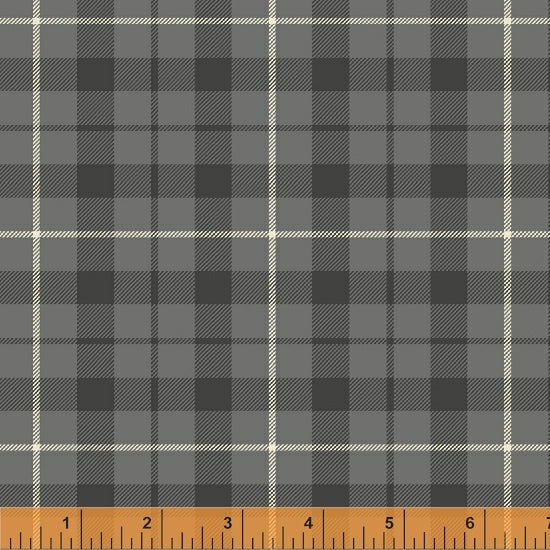 Pemberley Gray Plaid Flannel for Windham Fabrics