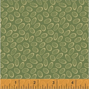 Richmond by Nancy Gere Floating Ovals Green