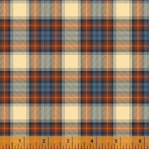 Dad Plaids Flannel Alexander Cream for Windham Fabrics