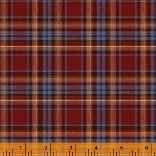 Dad Plaids Flannel Alexander Wine for Windham Fabrics