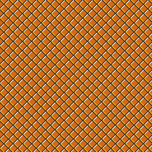 Sleepy Hollow Orange Lattice from Andover