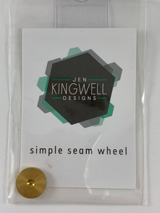 Simple Seam Wheel by Jen Kingwell