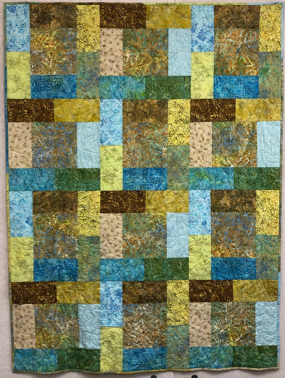 Contemporary Batiks Intrigue Quilt Kit
