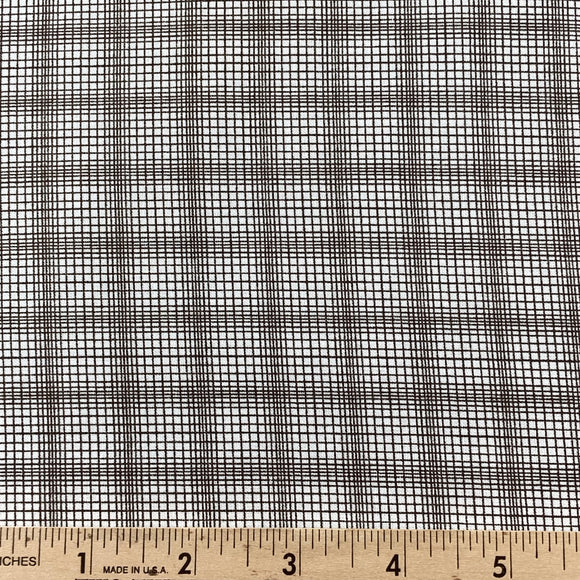 Modern Country by Mary Elizabeth Kinch Plaid Charcoal