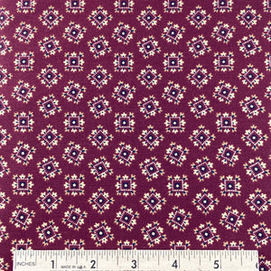 Shenandoah Valley by Nancy Gere Red Wine Foulard