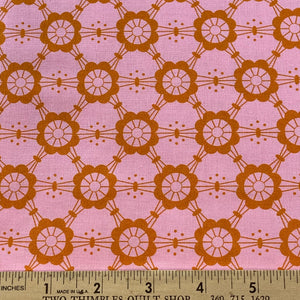 Mostly Manor by Victoria Findlay Wolfe Orange Lace