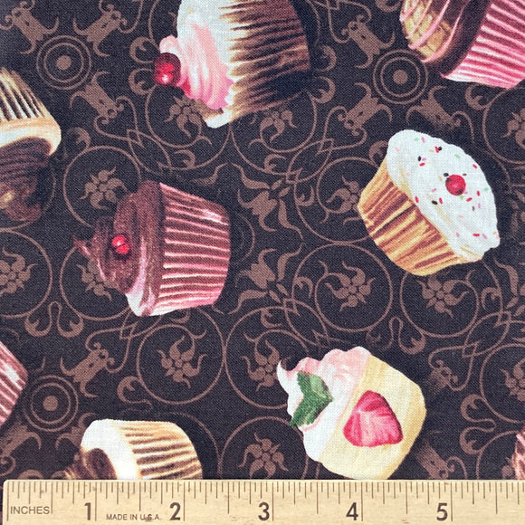 Love at First Bite by Color Bakery BOLT END 3 Yards + 15 inches