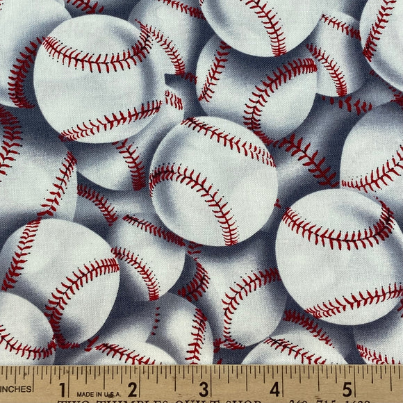 Packed Baseballs from Timeless Treasures