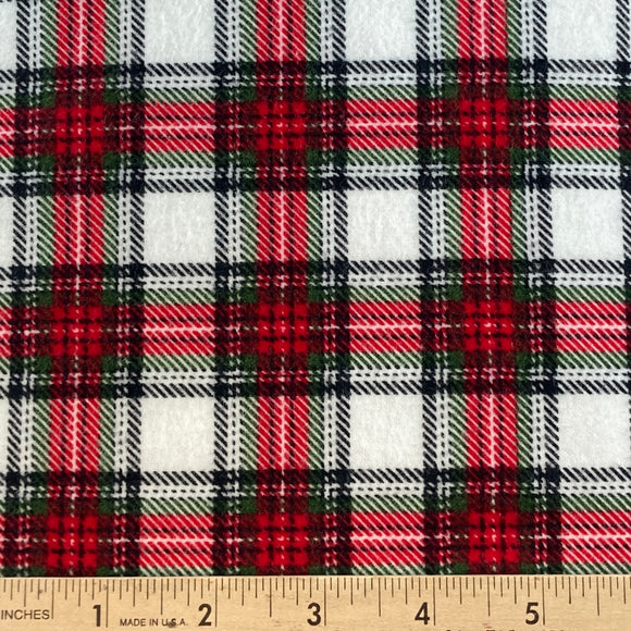 Plaid Tartan Flannel from Timeless Treasures