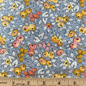 Linen & Lawn by Sue Daley Designs Gray Floral