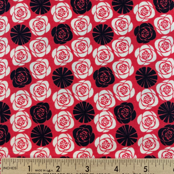 Birds of A Feather Roses from Camelot Fabrics