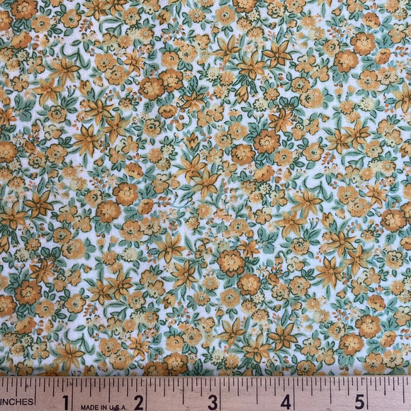 Garden Delights Lily Gold from In the Beginning Fabrics