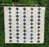 Blue & Brown Small Quilt Kit