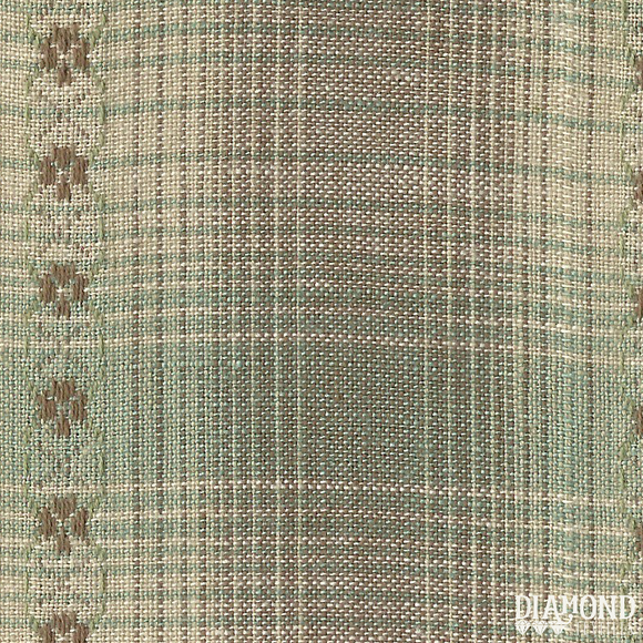 Nikko Sage Dobby Plaid from Diamond Textiles
