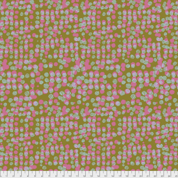 Vestige by Bookhou for Anna Maria's Conservatory Woven Dots Petal