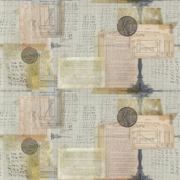 Memoranda Arithmetic Multi by Tim Holtz