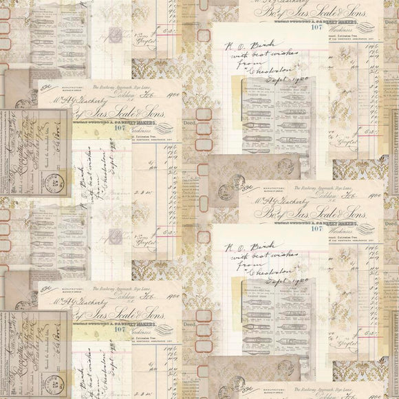Memoranda Cabinet Makers Multi by Tim Holtz