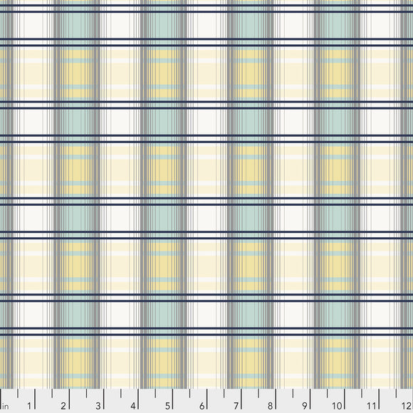 Dream Cottage Scotch Plaid Spruce from Freespirit