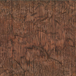 Bali Skinny Stripes Chocolate from Hoffman Fabrics