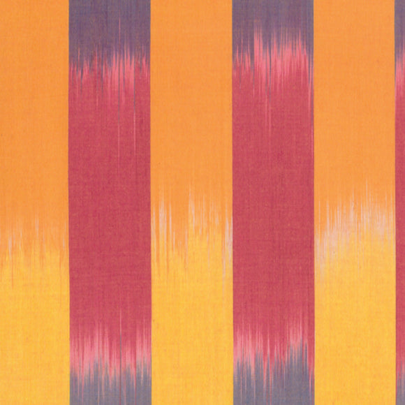 Artisan Ikat Woven Stripe Yellow by Kaffe Fassett