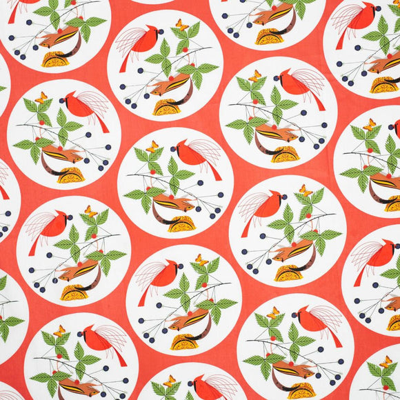Winter Wonderland Charley Harper from Birch Fabrics Good World