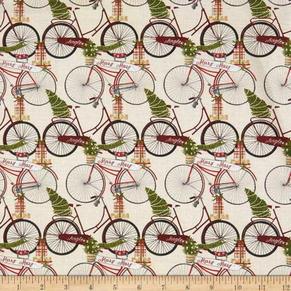 Jingle All the Way by Beth Albert Bicycle