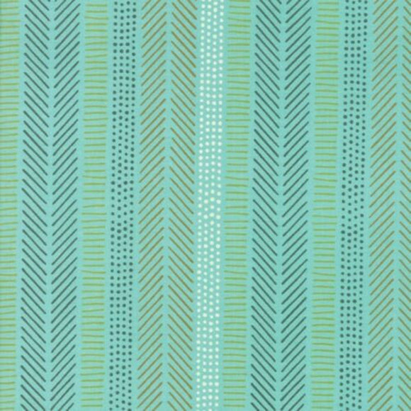 Safari Life by Stacy Iest Hsu Aqua Stripe