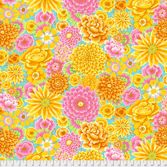 Enchanted Yellow by Kaffe Fassett