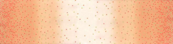 Ombre Confetti Dot by V and Co. Metallic Coral