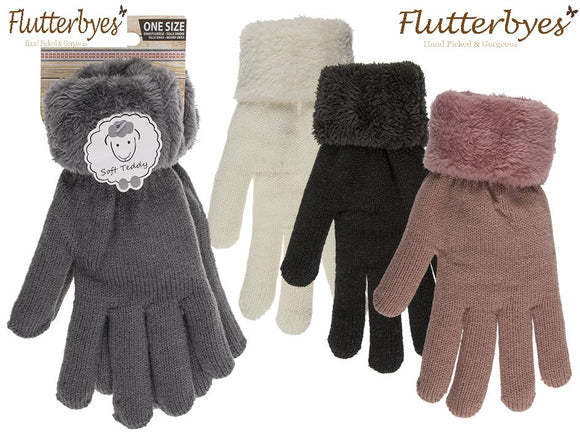 Fluffy Cosy Comfort gloves,