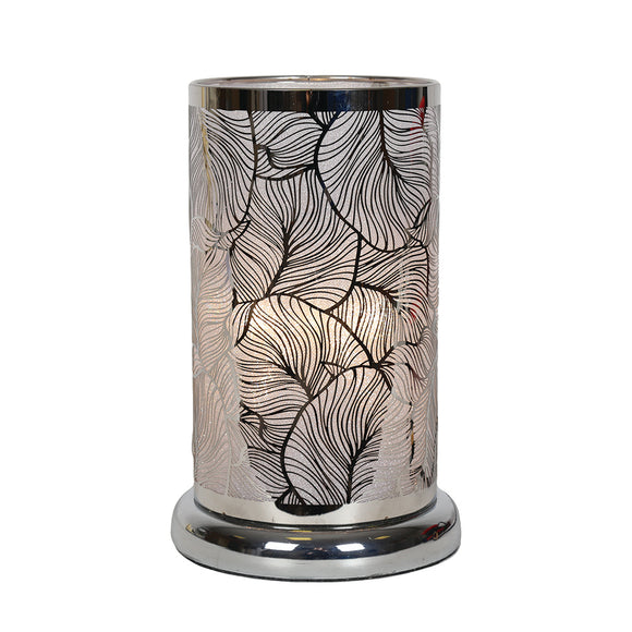 Leaf Design-Silver Table lamp