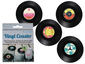 Vinyl Coasters- Set of 4 Records