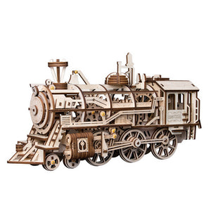 ROKR Locomotive Mechanical Gears Puzzle