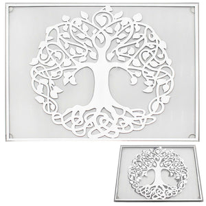 MIRROR TREE OF LIFE PLACE MATS  SET OF 2