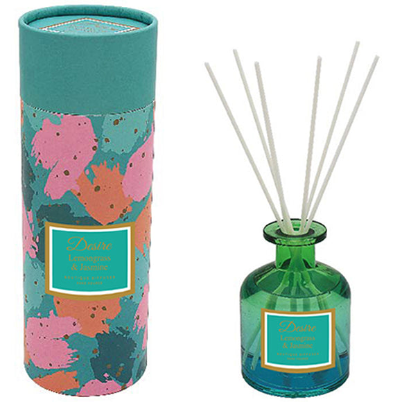LEMON GRASS & JASMINE  GLASS DIFFUSER 200 ML