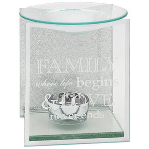 SENTIMENTS MIRROR FAMILY OIL/WAX BURNER