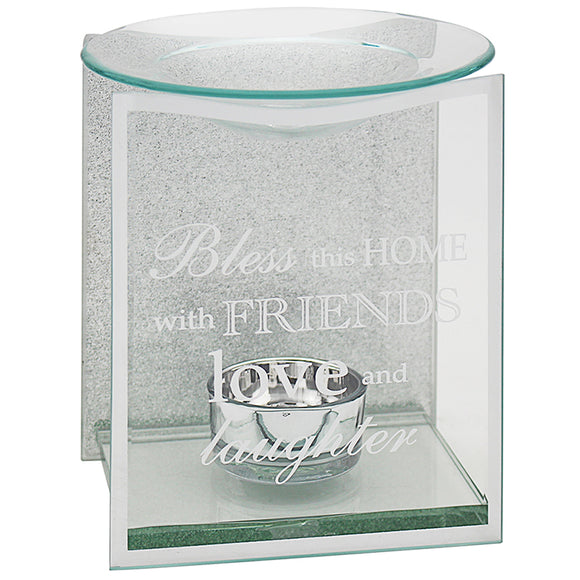 SENTIMENTS MIRROR HOME OIL/WAX BURNER