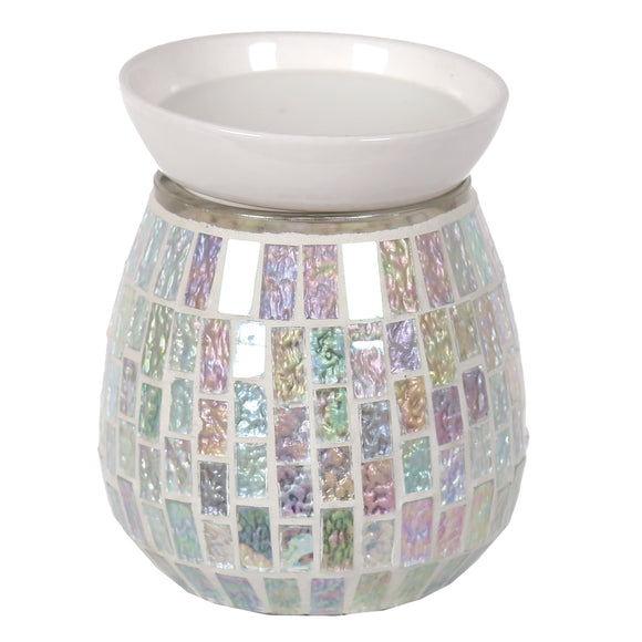 Mosaic Electric Wax/Oil Burner -Ice White