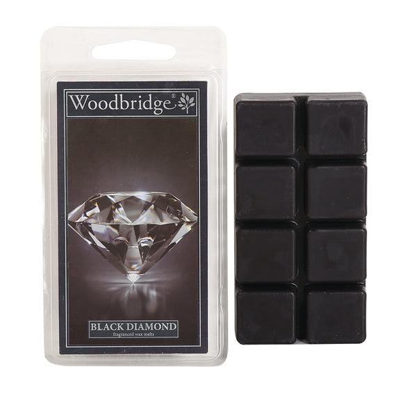 Black Diamond Wax Melts-Pack of 8