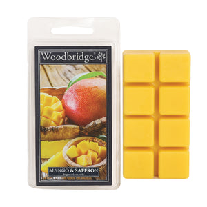 Mango & Saffron Wax Melts - Pack of 8