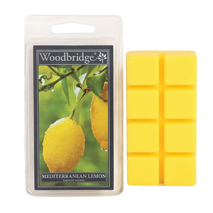 Mediterranean Lemon Wax Melts-Pack of 8