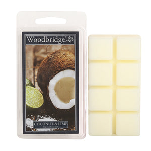Coconut & Lime Wax melts-Pack of 8