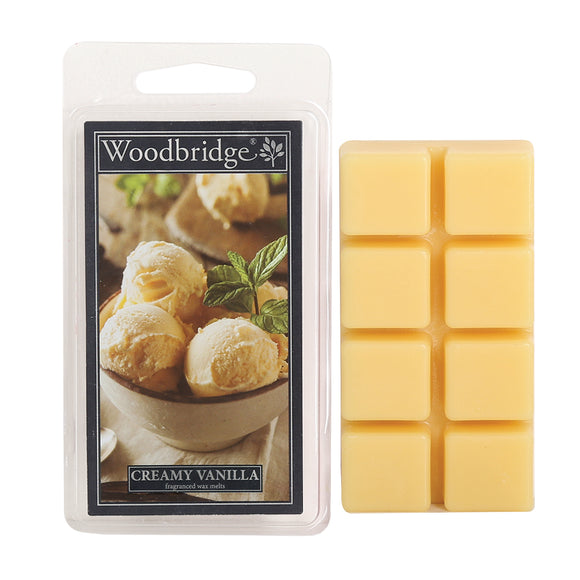 Creamy Vanilla Wax melts-Pack of 8