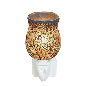 Autumn crackle wax warmer