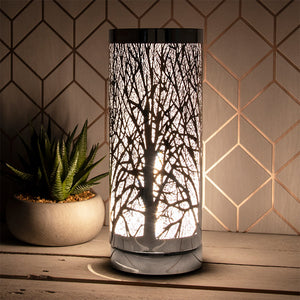 Tree of Life - Silver Touch Lamp-Wax Burner