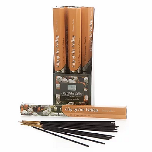 Lilly of the valley Incense sticks- Carton of 6 packs-Each pack contains 20 x sticks