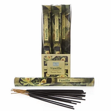 Vanilla Incense Sticks- Carton of 6 Packs- Each Pack Contains 20 x Sticks