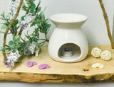 Butterfly Wax/Oil Burner-White-Mint-pink