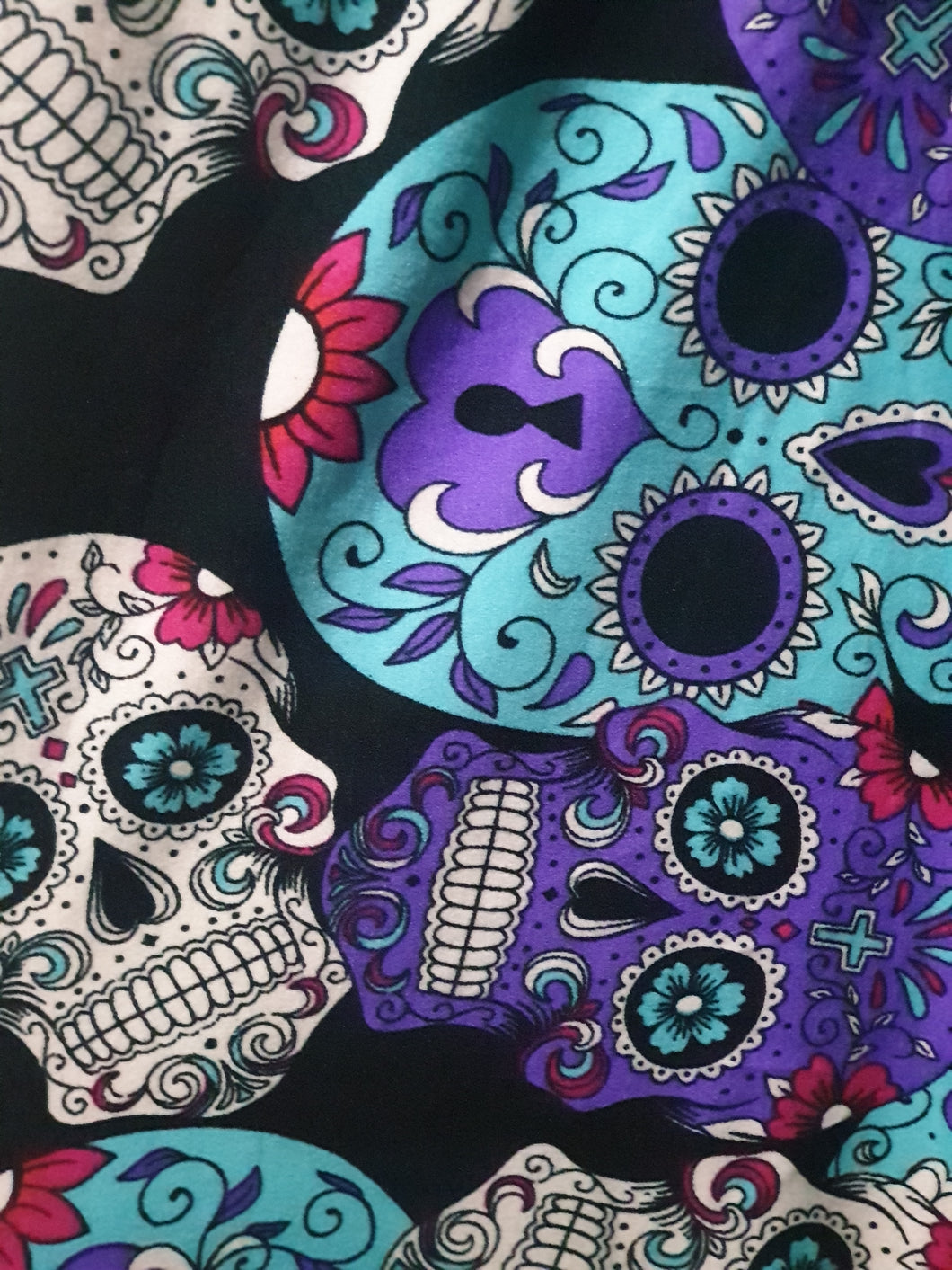 Luscious Purple Skulls